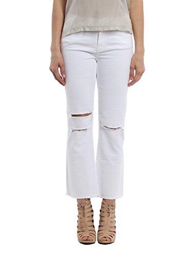 Femme Coton JB000457J10011 JBrand Blanc Jeans q6TxwnZZcW