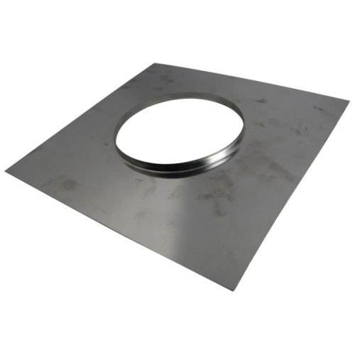 M G Duravent 3DFS-TP Dura-Vent 3 Inch TopPlate with clamp band for DuraFlex ()