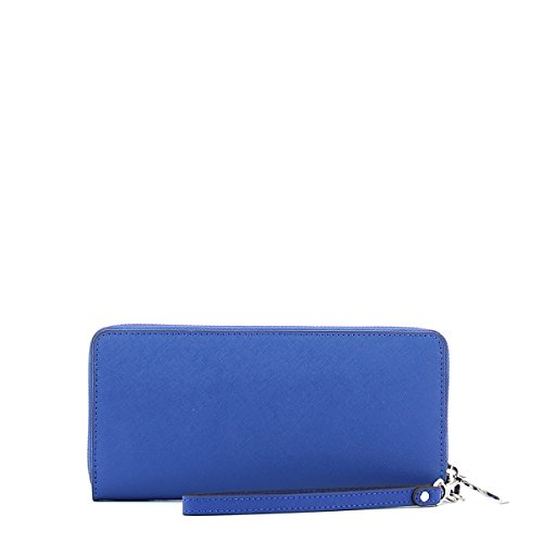 9aac49a0072f Michael Kors Jet Set Travel Continental Wallet Wristlet - Electric Blue by Michael  Michael Kors (