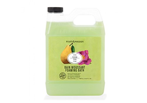Fruits and passion Bath & Body Foaming Bath Refill 1L (Pear peony)