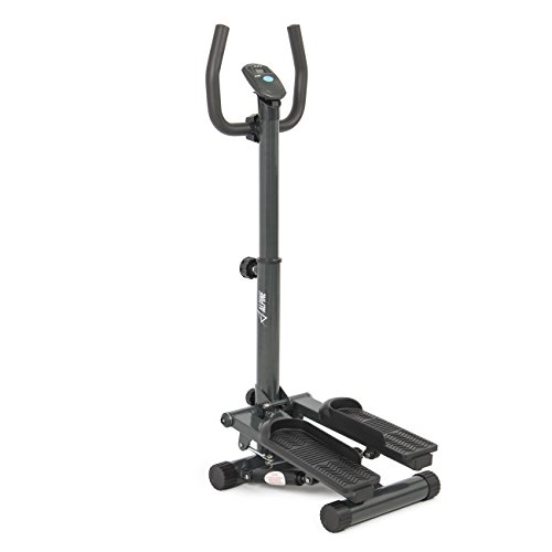 Akonza Stepper with Handle Bar, Step LCD Display, - Hydraulic Exercise Equipment