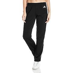 adidas Women's Designed 2 Move Straight Pants, Black/White, Small