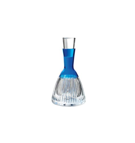 Waterford Crystal Mixology Argon Blue Decanter by Waterford