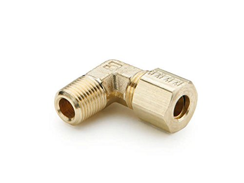 Parker Hannifin 169C-6-8 Forged Brass Male Elbow Compression Fitting 3//8 Compression Tube x 1//2 Male Thread 3//8 Compression Tube x 1//2 Male Thread Parker Hannifin Corporation