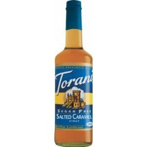 Price comparison product image Torani Syrup, Sugar Free, Salted Caramel , 750-ML (Pack of 3) by Torani