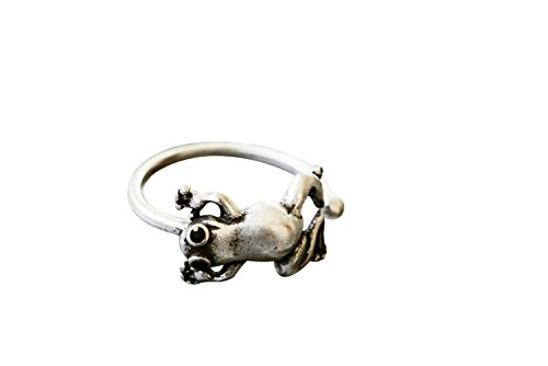 One Simple Brass Fashion Jewelry Bohemian Boho Dainty Delicate Mini Small Tiny Friendship Bff Bridal Bridesmaid Gift Best Friend Wedding Party First Mid Pinky Knuckle Finger Animal Frog Band Ring