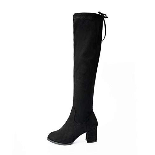 HAOLIEQUAN HAOLIEQUAN HAOLIEQUAN Plus Größe 32-48 Frauen Oberschenkel Hohe Stiefel Plattform Frau Winter Schuhe Warme Lange Stiefel Mode Frauen Schuhe 2e047e