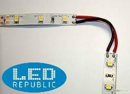 "Led Republic 16'5"" 600 Unit SMD 3528 LEDs 48W Flexible Strip, 6000K Daylight White, LED Tape, Light Strips, Pack of 16.4ft/5m"