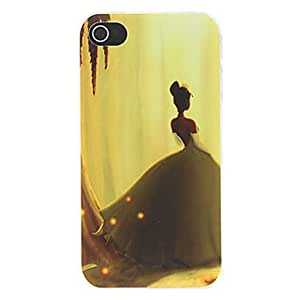 ZMY Patrón Princesa Lovesick Mate Diseñado estuche rígido de la PC para el iPhone 4/4S