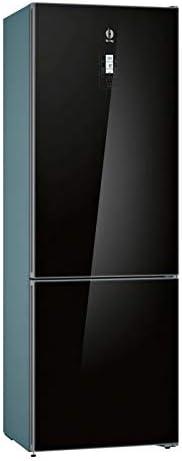 Balay 3KF6997BI Independiente 435L A+ Negro nevera y congelador 435 L, SN-T, 15 kg//24h, A++, Compartimiento de zona fresca, Negro Frigor/ífico