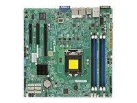 SUPERMICRO X10SLM+-F - motherboard - micro ATX - LGA1150 Socket - ... (MBD-X10SLM+-F-O) - by Supermicro Boards (Matx Motherboard Pentium)