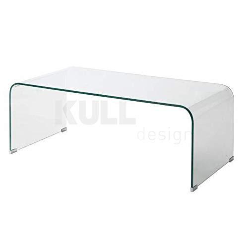 Kulldesign.com Mesa de Centro en Cristal Curvado Modelo Klod ...