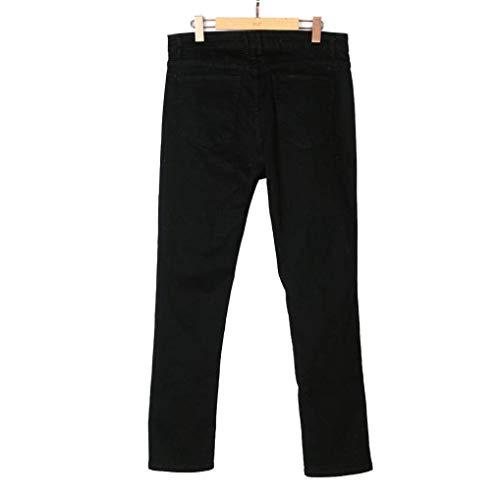 Coches Jeans Rique Pantalones Cultura Skinny Auto Ajustados Negro Fashion De Cultura Lannister Casual Schimmel Hombre Destruido Trous Cómodos Pantalones Vaqueros Yq6xwZ