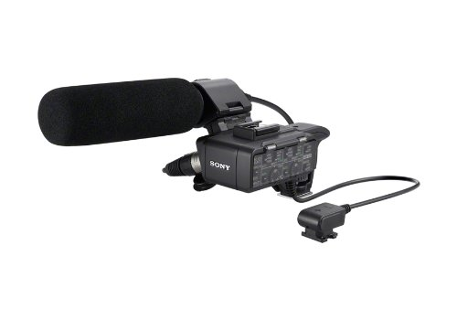 Sony XLRK1M Balanced Audio Adapter for Alpha Camera - Adapter Sony Recording