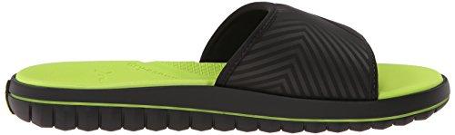 Ruiter Heren Board-81490 Slide Sandaal Zwart / Groen