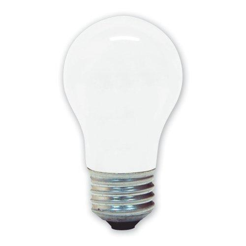 GE 20452-24 40-Watt Ceiling Fan Soft White, A15 2-Pack Li...