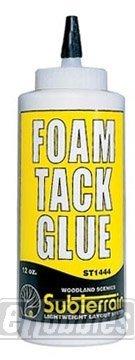 WOODLAND SCENICS ST1444 Foam Tack Glue 12 oz WOOU1444