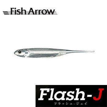 Fish Arrow(フィッシュアロー) ルアー フラッシュ-J 3 #30 Sクリア/シルバーの商品画像