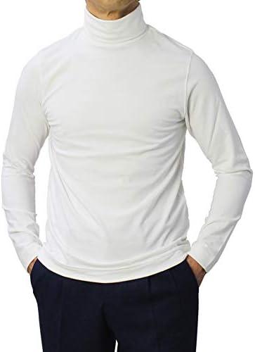 1901 CIRCOLO 1901 Tシャツ コットン 天竺ニット タートルネック ロングスリーブ