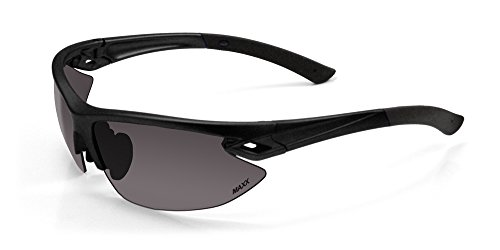 Maxx Sunglasses 2017 TR90 Maxx 13 Black Smoke Lens