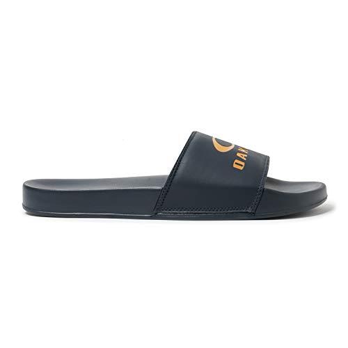 (Oakley Ellipse Slide Sandal (Dark Blue,)