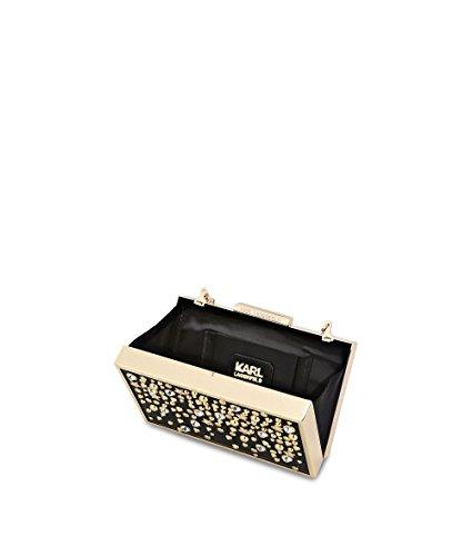 Karl Lagerfeld Pochette Donna 71KW3055NERO Acrilico Nero