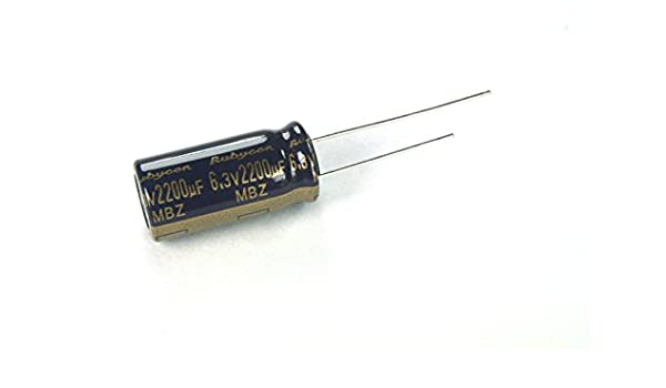 8 Pcs Rubycon MBZ 6.3V 3300UF Ultra LOW ESR Made in Japan Motherboard Capacitor