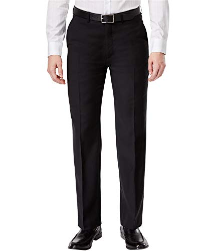 - Ryan Seacrest Mens Wool Formal Dress Pants Black 32/30