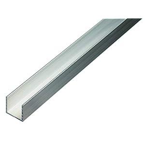 GAH-Alberts 474485 Profilo a U, Alluminio, 1000 x 20 x 20 mm 315vr0Zpy4L. SS300