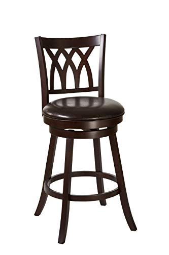 (Hillsdale Furniture Tateswood Swivel Bar Stool, Cherry)