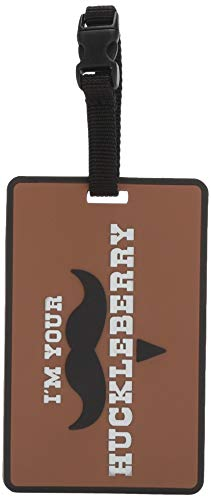 5ive Star Gear I'm Your Huckleberry Luggage Tags, Metal, One Size ()