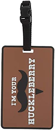 5ive Star Gear I'M Your Huckleberry Luggage Tags, Metal, One