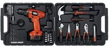 Black & Decker 12v Drill Tool Accessory Kit