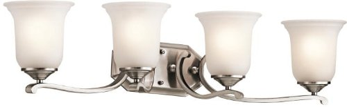 h Vanity Wall Lighting Fixtures, Classic Pewter 4-Light (33