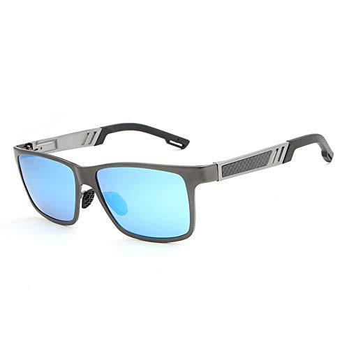 Soleil Magnesium Sun Glasses Men Men Square Aluminum Driving Glasses for Polarized Lunettes FKSW blue De Sunglasses 8U7wnqEWp0