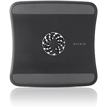 Belkin CoolSpot USB-Powered Laptop Cooling Pad (Black) (F5L055btBLK)