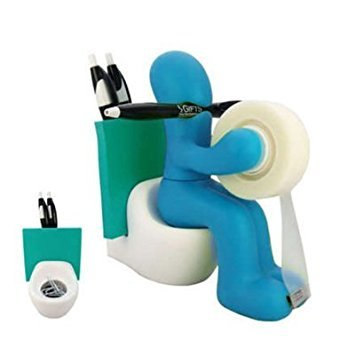 FUNNY GIFT! Supply Station Desk Accessory Holder by KitoDesign ()