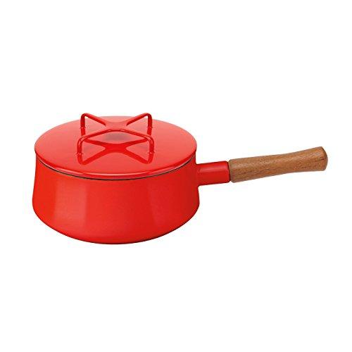 Dansk-834298-Kobenstyle-Saucepan-2-Quart-Chili-Red