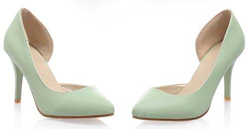 YCMDM Nuovo singolo SCARPE DONNA sandali degli alti talloni , green , 37