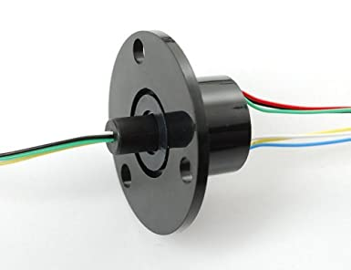 Adafruit 736 Slip Ring with Flange, 22 mm Diameter, 6 Wire ... on