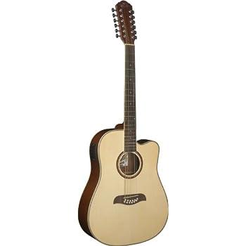 Oscar Schmidt OD312CE 12-Strings Acoustic-Electric Guitar - Natural