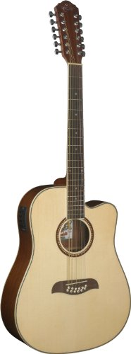 Oscar Schmidt OD312CE 12-Strings Acoustic-Electric Guitar -