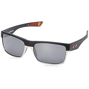 Oakley Men's Twoface 0OO9189 Non-polarized Iridium Square Sunglasses, MATTE BLACK, 60.01 mm