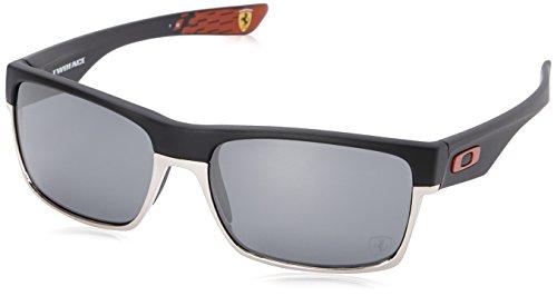Oakley Men's Twoface 0OO9189 Non-polarized Iridium Square Sunglasses, MATTE BLACK, 60.01 - 20 Sunglasses Oakley