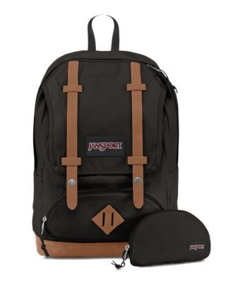 JanSport Baughman Laptop Backpack - Black Canvas