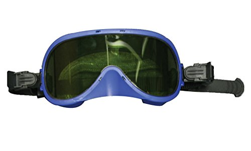 National Safety Apparel H08GGL Arcguard Medium Energy Arc Goggle, One Size, Blue Frame by National Safety Apparel Inc