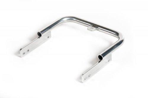 XFR - Aluminum ATV Standard Comp Grab Bar Honda TRX250EX (2006-2008) TRX250X (2009-18) Silver