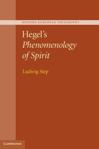 Download Hegel's Phenomenology of Spirit (Modern European Philosophy) Pdf