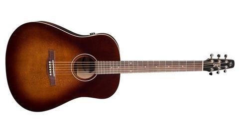 Seagull S6 Original Burnt Umber QIT Acoustic-Electric Guitar (Open Box) (Gull Guitar Sea Sunburst)