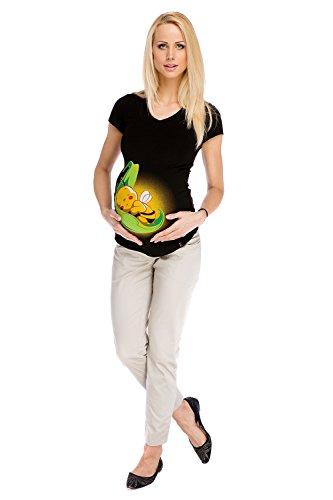 Pantaloni premaman Liv Beige Abbigliamento Premaman MY TUMMY ??? Donna Maternit